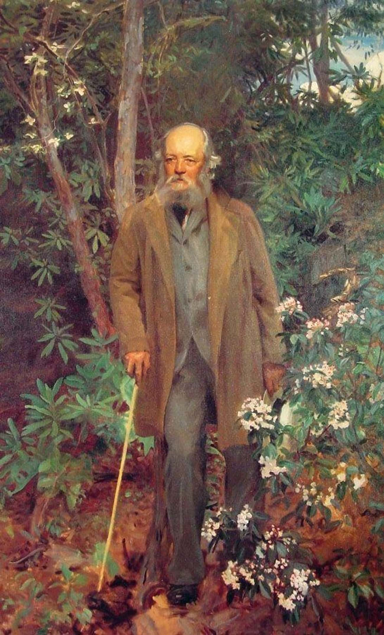 Frederick Law Olmsted is listed (or ranked) 1 on the list List of Famous Landscape Architects