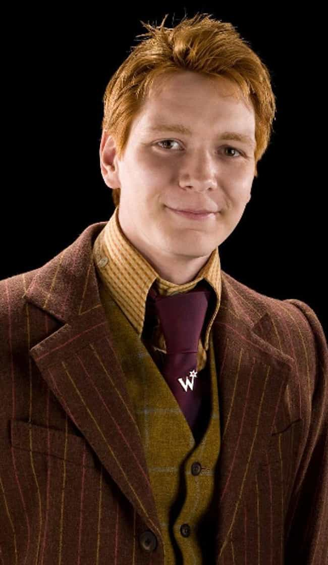 Fred Weasley is listed (or ranked) 4 on the list The Best Members of Gryffindor
