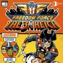 Freedom Force vs the 3rd Reich is listed (or ranked) 25 on the list List of All Superhero Games