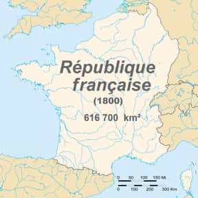 French First Republic is listed (or ranked) 24 on the list Countries Ruled by a Republic