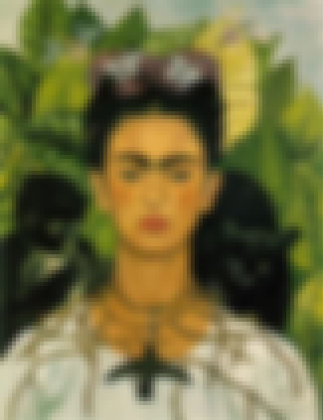 Frida Kahlo is listed (or ranked) 3 on the list Famous Artists from Mexico