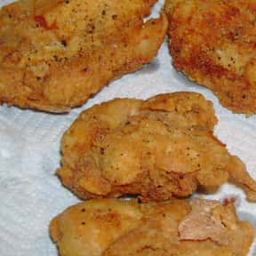 Fried chicken is listed (or ranked) 2 on the list The Most Delicious Foods to Dunk in a Deep Fryer