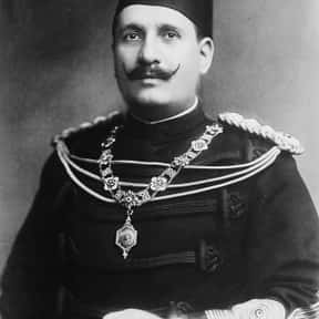 Fuad I of Egypt is listed (or ranked) 22 on the list Famous People From Egypt
