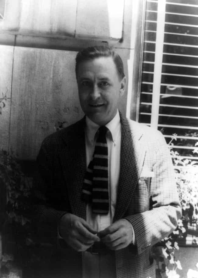 F. Scott Fitzgerald is listed (or ranked) 1 on the list Famous People Born in 1896