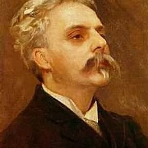 Gabriel Fauré is listed (or ranked) 24 on the list List of Famous Organists