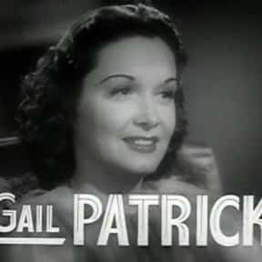 Gail Patrick is listed (or ranked) 8 on the list Stage Door Cast List