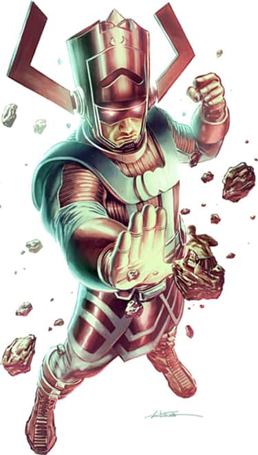 Galactus is listed (or ranked) 1 on the list The Silver Surfer's Greatest Foes