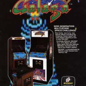 Galaga is listed (or ranked) 1 on the list The Best Namco Games List