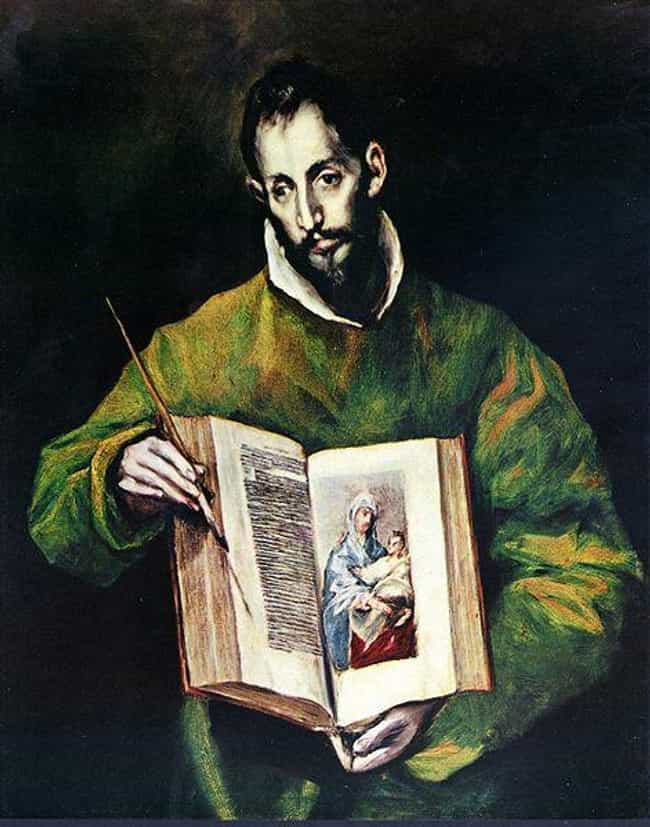 St. Luke Painting the Ic... is listed (or ranked) 3 on the list Famous Spanish Renaissance Paintings