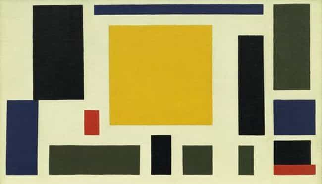 Composition VIII (The Co... is listed (or ranked) 4 on the list Famous De Stijl Artwork