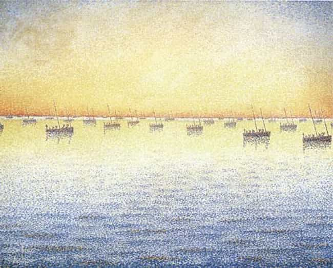 Setting Sun. Sardine Fis... is listed (or ranked) 4 on the list Famous Paul Signac Paintings