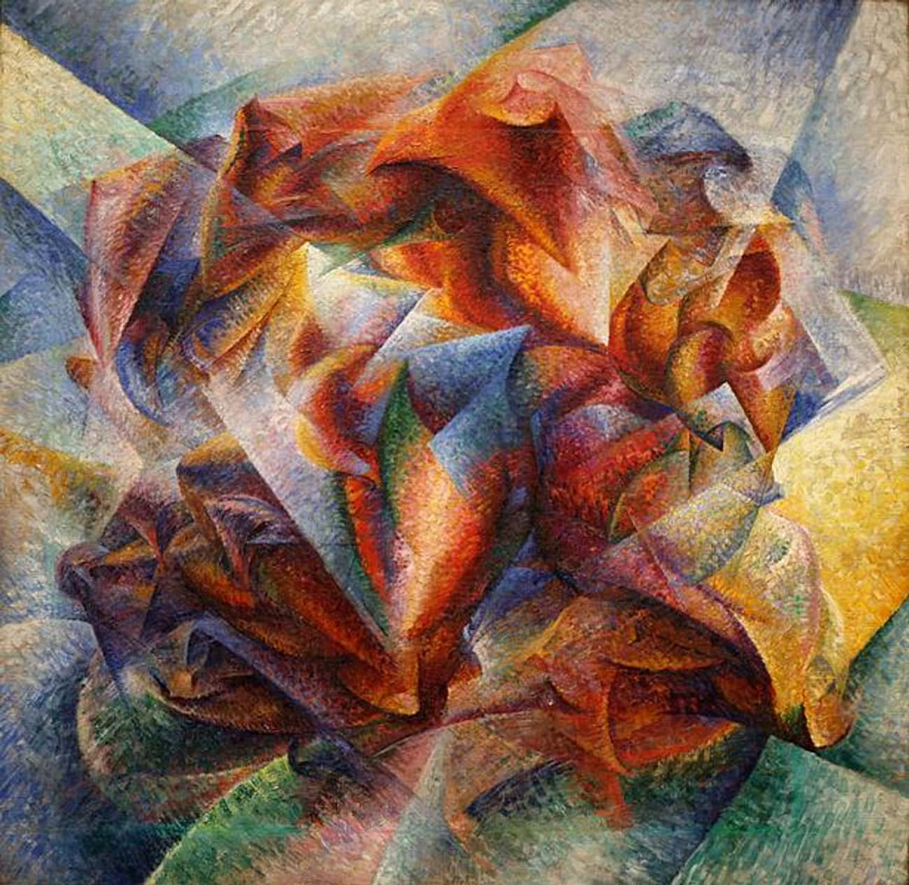 Dynamism of a Soccer Player is listed (or ranked) 4 on the list Famous Futurism Artwork