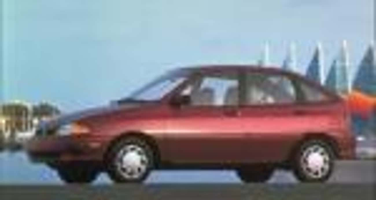 1996 Ford Aspire is listed (or ranked) 4 on the list List of 1996 Fords