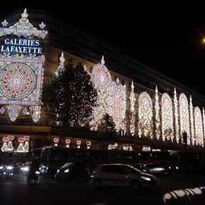 Galeries Lafayette is listed (or ranked) 1 on the list The Best French Department Stores