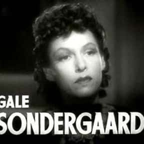 Gale Sondergaard is listed (or ranked) 14 on the list The Best Actors Who Won Oscars for Their First Movie