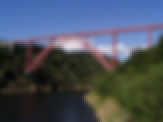 Garabit viaduct is listed (or ranked) 2 on the list List of Gustave Eiffel Architecture