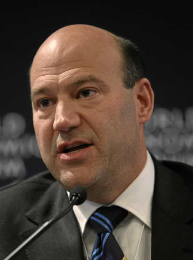 Gary Cohn is listed (or ranked) 4 on the list List of Famous Chief Operating Officers