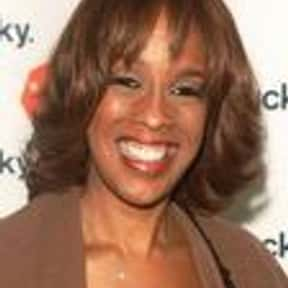 Gayle King is listed (or ranked) 20 on the list The Most Trustworthy Newscasters on TV Today