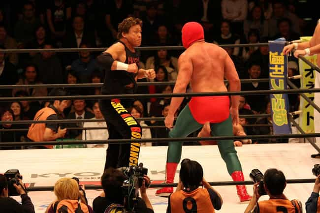 Genichiro Tenryu is listed (or ranked) 2 on the list Famous Male Sumo Wrestlers