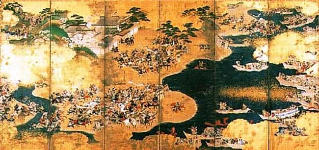 Genpei War is listed (or ranked) 1 on the list List Of Heian period Battles