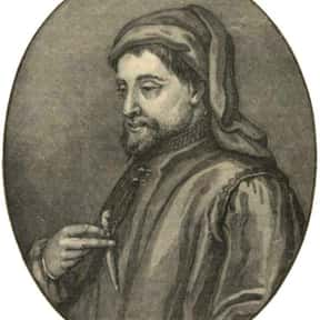Geoffrey Chaucer is listed (or ranked) 15 on the list List of Famous Poets