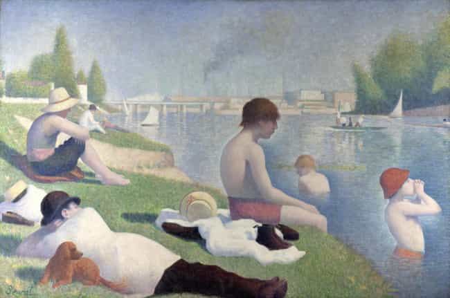 Georges-Pierre Seurat is listed (or ranked) 2 on the list Famous Modern Art Artists