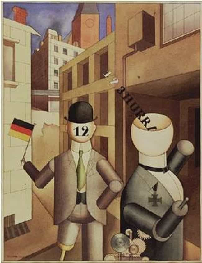 George Grosz is listed (or ranked) 2 on the list Famous New Objectivity Artists
