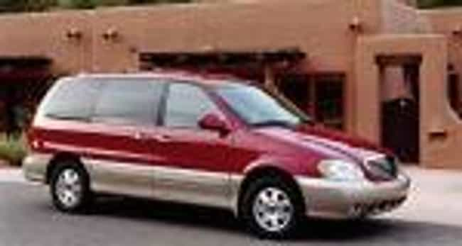 2002 Kia Sedona is listed (or ranked) 2 on the list The Best Kia Sedonas of All Time