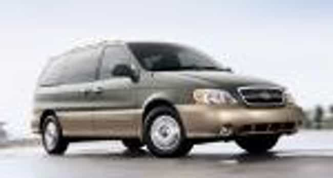 2004 Kia Sedona is listed (or ranked) 4 on the list The Best Kia Sedonas of All Time