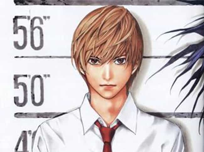 Light Yagami Is Listed Or Ranked 4 On The List Very Best Anime