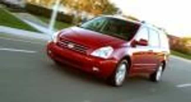 2005 Kia Sedona is listed (or ranked) 3 on the list The Best Kia Sedonas of All Time