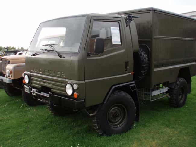 Land Rover Llama is listed (or ranked) 14 on the list Full List of Land Rover Models