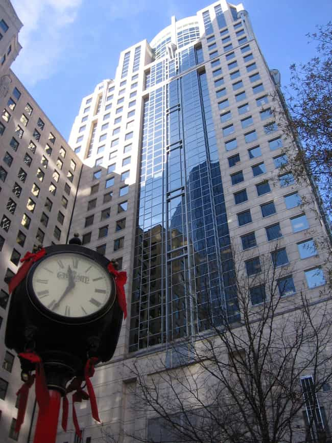 121 West Trade is listed (or ranked) 2 on the list List of Famous Charlotte Buildings & Structures