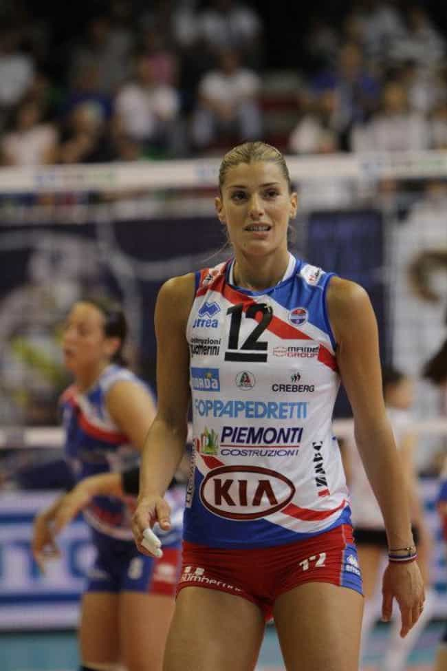 Francesca Piccinini is listed (or ranked) 3 on the list Famous Female Volleyball Players