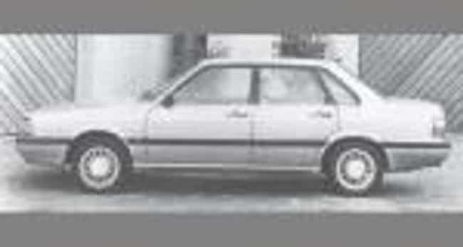 1985 Audi 4000s Sedan is listed (or ranked) 1 on the list List of All Cars Made in 1985