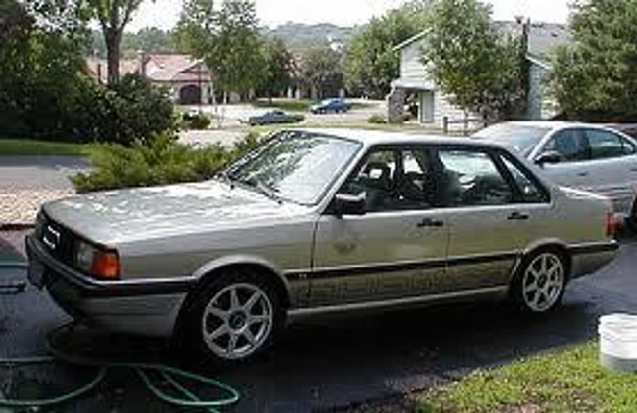 1986 Audi 4000CS Quattro