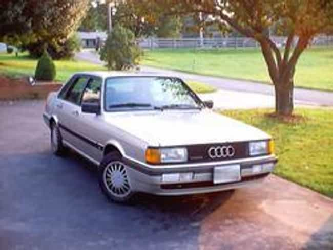 1987 Audi 4000CS Quattro... is listed (or ranked) 3 on the list List of All Cars Made in 1987