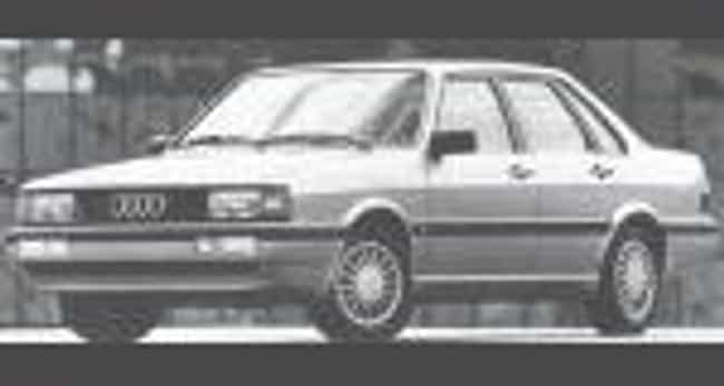 1987 Audi 4000 is listed (or ranked) 2 on the list List of All Cars Made in 1987
