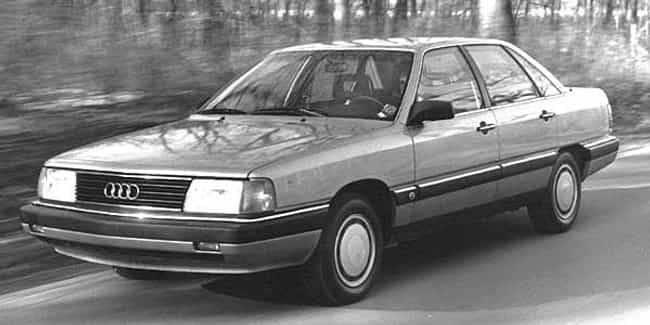 1987 Audi 5000CS Sedan ... is listed (or ranked) 4 on the list List of All Cars Made in 1987