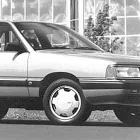 1988 Audi 5000CS Sedan