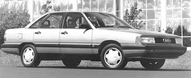 1988 Audi 5000CS Sedan is listed (or ranked) 4 on the list List of All Cars Made in 1988