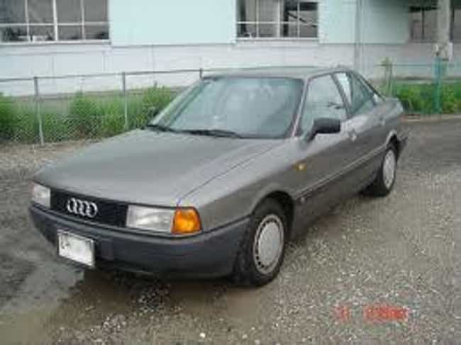 1989 Audi 80 Sedan is listed (or ranked) 2 on the list List of Popular Audi 80s