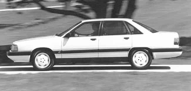 1990 Audi 200 Sedan is listed (or ranked) 4 on the list List of All Cars Made in 1990