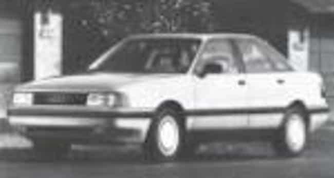 1992 Audi 80 Sedan is listed (or ranked) 4 on the list List of All Cars Made in 1992