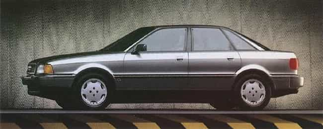 1993 Audi 90 Coupe Quattro is listed (or ranked) 4 on the list List of All Cars Made in 1993