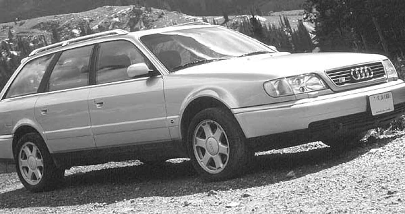 1995 Audi S6 Station Wagon is listed (or ranked) 2 on the list List of Popular Audi Station Wagons