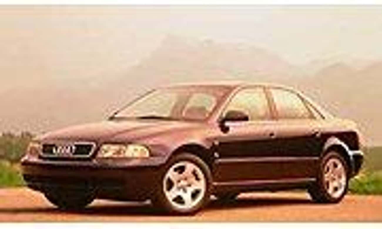 1996 Audi A4 Sedan Quattro is listed (or ranked) 4 on the list List of All Cars Made in 1996