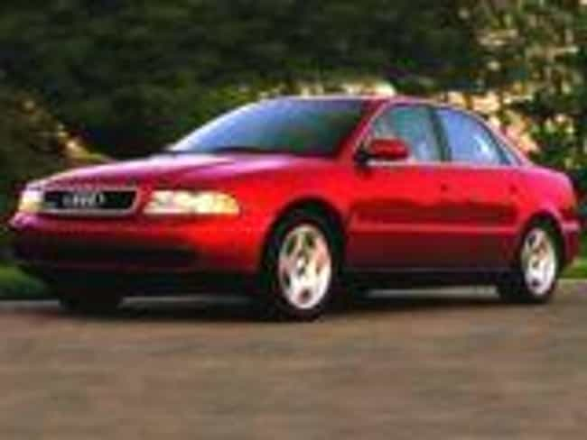 1997 Audi A4 Sedan Quatt... is listed (or ranked) 3 on the list List of All Cars Made in 1997