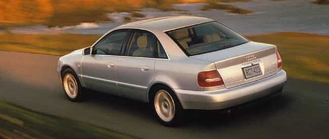 2000 Audi A4 Sedan Quatt... is listed (or ranked) 2 on the list List of All Cars Made in 2000
