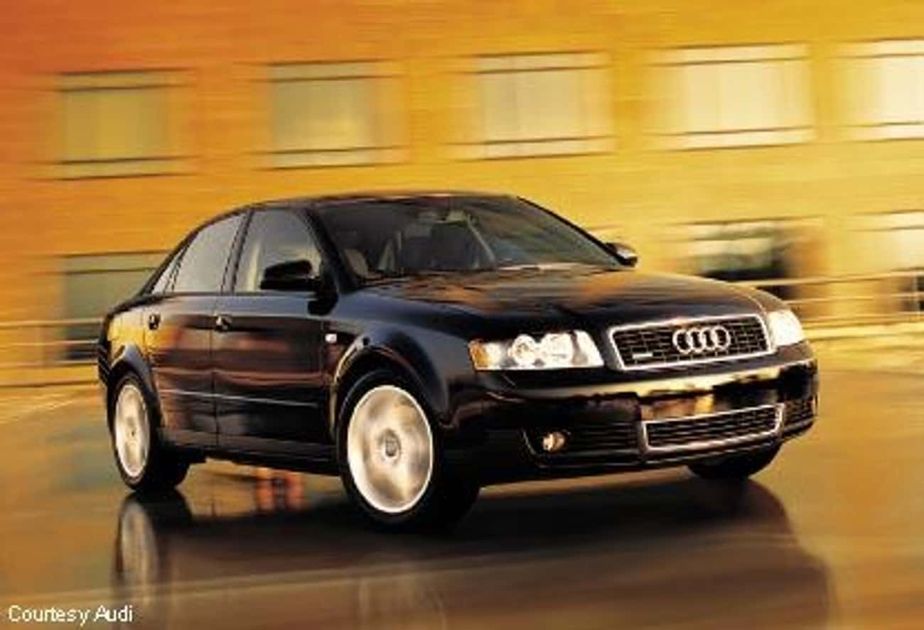 2002 Audi A4 Sedan Quattro is listed (or ranked) 3 on the list List of All Cars Made in 2002
